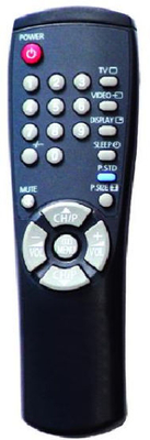 High Quality TV Remote Control (00104D)
