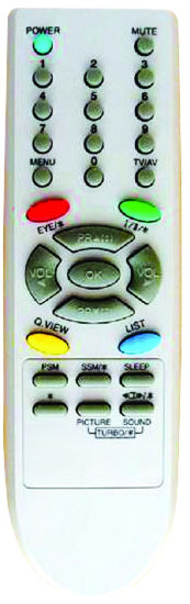 ABS Case Remote Control for TV (6710V00090D)