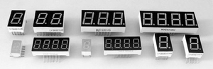 Shining Seven Segment LED Display for Meter