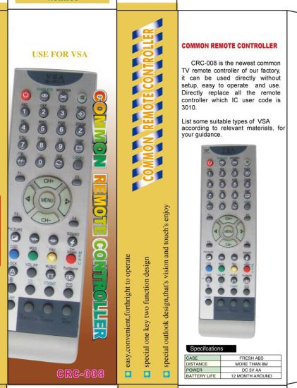High Quality Universal Remote Control (URC-5)