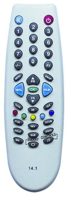 High Quality Remote Control for TV (14.1 MINI)