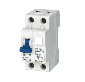 RCBO RCCB with Overcurrent Protection Ekl3-40