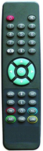 ABS Case Remote Control for TV (CONDOR OVISAT)