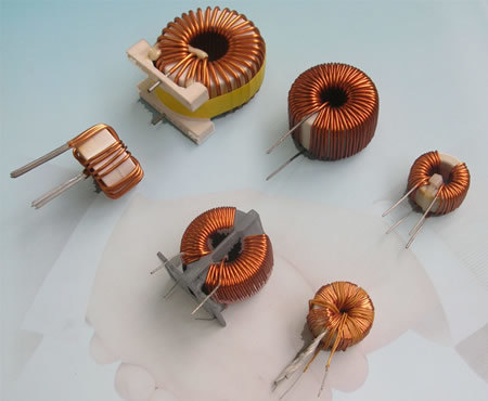Fine Copper Non-Crystal Coils for Power Supply
