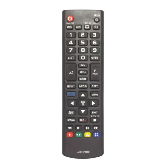 High Quality TV Remote Control (AKB73715601)