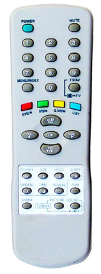 ABS Case for TV Remote Control (6710V00070A)
